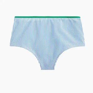J. Crew Swim - J.Crew Tie-Shoulder Top & High Waisted Bottom
